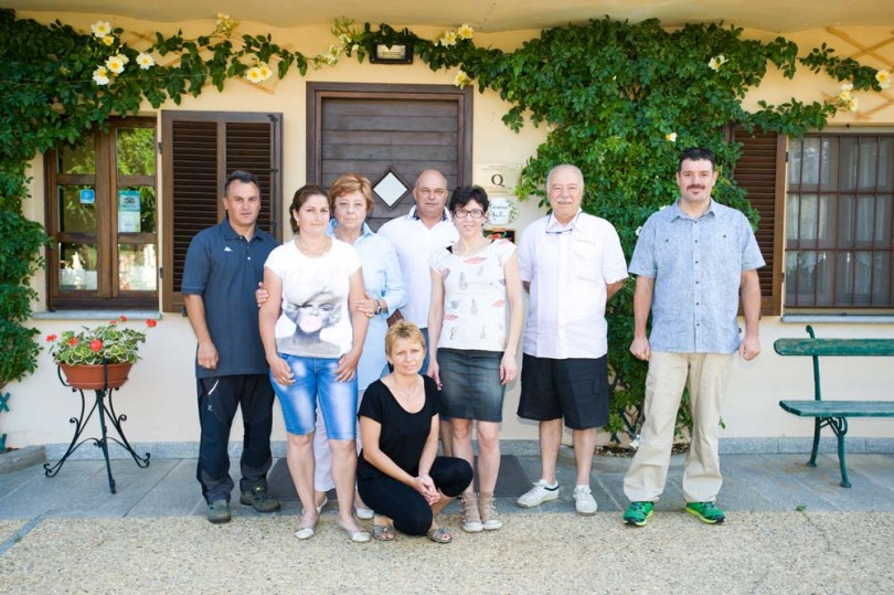 Amalia staff and the Boffa family